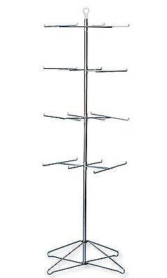 Floor Peg Rack Display Prong Spinner Belts Baskets New