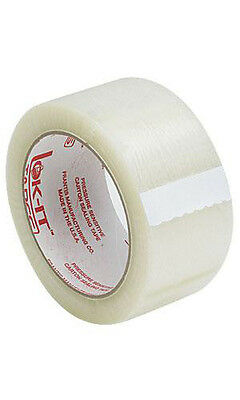 Packing Tape in Clear 2 Inch Wide 110 yard roll - Count of 10