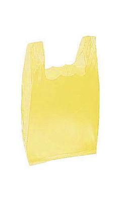 Plastic Grocery T-shirt Bags 2000 Small Yellow Retail Merchandise 8 X 5 X 16