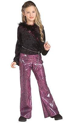 POP STAR DIVAS ROCK STAR DIVA CHILD HALLOWEEN COSTUME GIRLS SIZE SMALL 4-6 (Rock Star Diva Halloween Costumes)