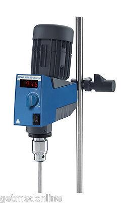 New Ika Rw 20 Digital Overhead Stirrer 60-2000 Rpm20 Lt Capacity 3593001