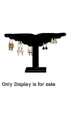 Winged Earring Displays In Black Velvet 12 W X 8 H Inches - Case Of 10