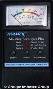 Tramex MEP Moisture Encounter Plus Non-Invasive Moisture Meter - NEW!