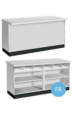 New Retails Metal Framed Grey 6' Service Counter 70