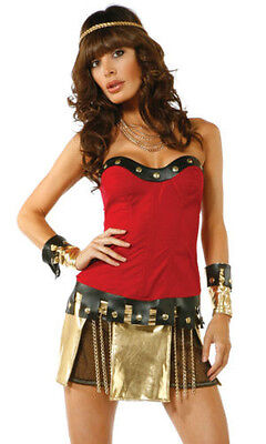 SEXY READY FOR WAR SPARTAN COSTUME BY FORPLAY A $79.99 VALUE DISCOUNTED