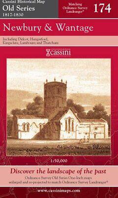 Old Newbury Series - Newbury and Wantage (Cassini Old Series Historic,New,Books,mon0000044911