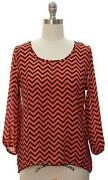 Womens Long Sleeve Blouse Medium