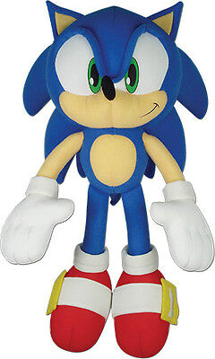 Genuine Great Eastern  Ge 52749  Sonic The Hedgehog   14  Sonic Plush Doll