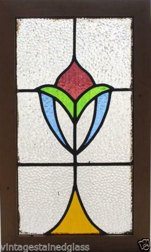 Art Deco Stained Glass Ebay