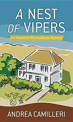 A Nest of Vipers  Center Poing Large Print  Inspector Montalbano Myst