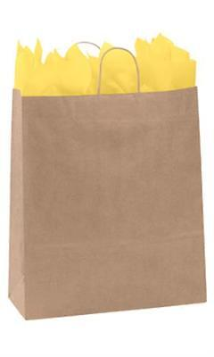 Paper Shopping Bags 200 Kraft Gift Merchandise 16 X 6 X 19 H Recycled Retail