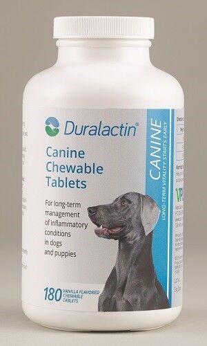 EXPIRED -  Duralactin Canine Chew Tabs 1000m,g 180 ct (23698)