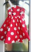 Girls Red Dress 2-3 Years