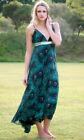 Chiffon Long Peacock Dresses for Women