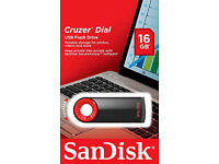 SanDisk 16 GB Usb Flash Drive. new in packaging.