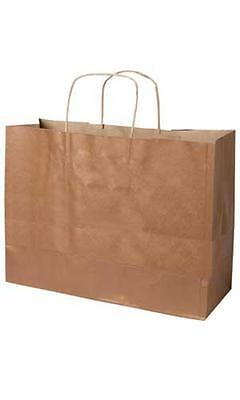 Paper Shopping Bags 100 Metallic Copper 16 X 6 X 12 Merchandise Gift