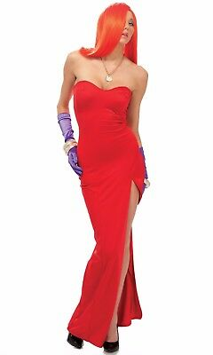 Roger Rabbit Halloween Costumes (NEW! Roger Rabbit JESSICA INSPIRED Women Cosplay Halloween Costume Size)