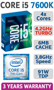 Intel Processor 7 Gen. and other components