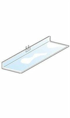 Shelf For Pegboard In Clear 2 L X 4 W Inches - Lot Of 4
