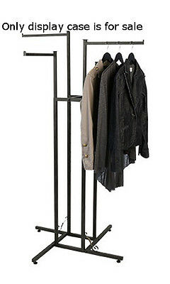 Vintage 4 Way Boutique Clothing Rack With Staright Arms 48-72h Inches