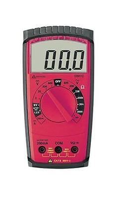 New Amprobe Digital Multimeter Dm7c Includes Users Manual Test Leads Holster