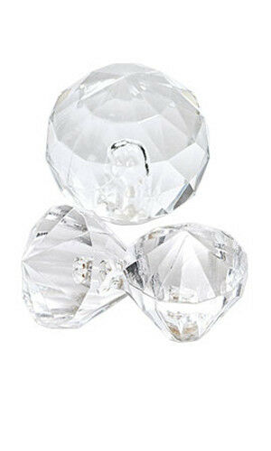 Accent Gems Clear for Silver Jewelry - Set of 30