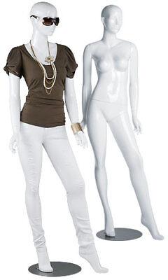 White Female Mannequin 36 Bust 26 Waist 33 Hips 510 Tall Full Body