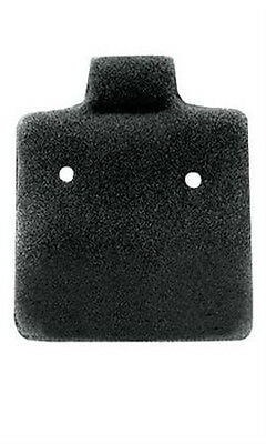 Earring Cards Felt Puffed In Black 1 X 1 Inches - Case Of 200