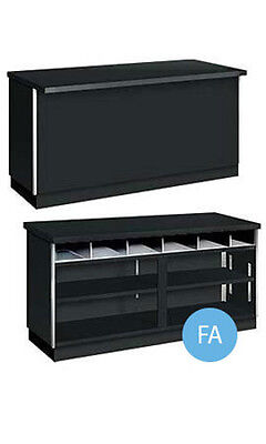 New Retails Metal Framed Black 6' Service Counter 70