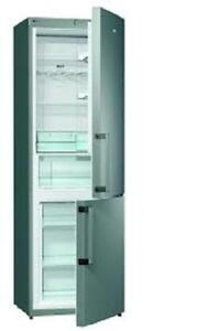 Gorenje NRK6191GXUK 60cm NoFrost Fridge Freezer in S/ Steel 5yr wrty
