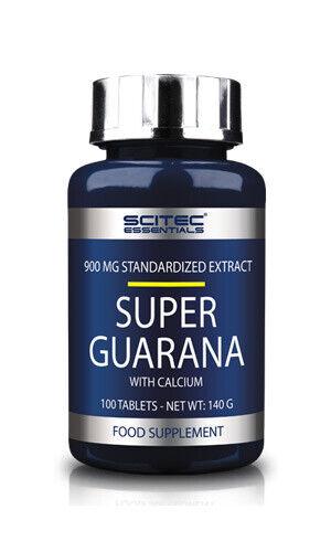 Scitec Nutrition Super Guarana - 100 Tabletten Energie Fokus natürliches Koffein