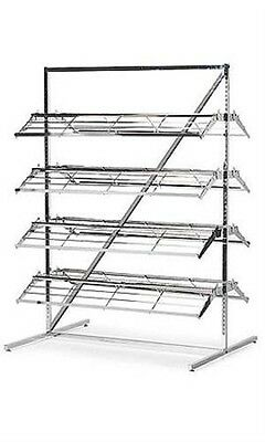 Shoe Floor Display Rack 66x37x48 Inches With 8 Shelf