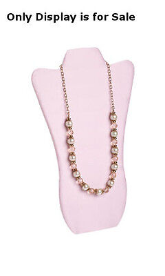 New Retails Tall Pink Finished Necklace Display Easel 8 34w X 14l