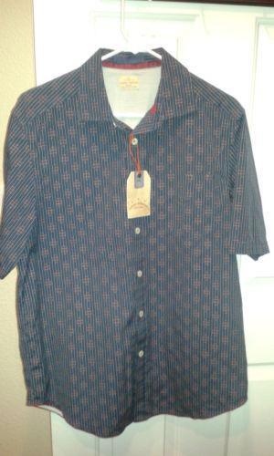Tommy bahama camp shirt sz m ebay for Where to buy tommy bahama shirts