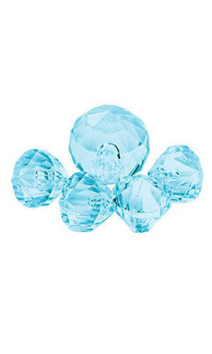 Accent Gems Aqua for Silver Jewelry - Pack of 50