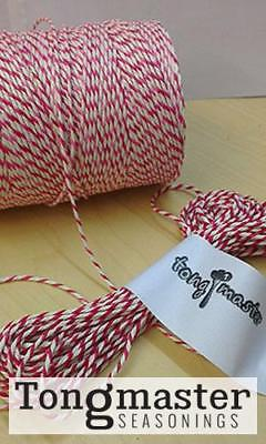 Buy One Get One Free - Red & White Bakers, Butchers, Craft, Parcel String Twine