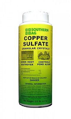 Copper Sulfate Granular Crystals   Southern Ag   2 5Lbs  Sewer Root Killer