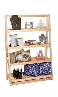 A-frame Wood Display 4 Tier Shelf 42 X 16 X 60 Retail Display Merchandise