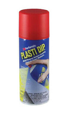 Plasti Dip Red 11201 Multi-purpose Coating Aerosol 11oz With 1 Cangun