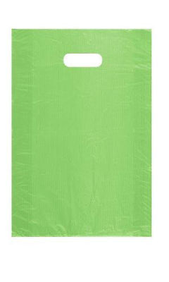 Plastic Shopping Bags 1000 Lime Green Merchandise Retail Gift 12 X 3 X 18 - Lime Green Gift Bags