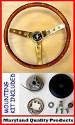 Mustang Wood Steering Wheel