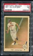 1959 Fleer Ted Williams PSA