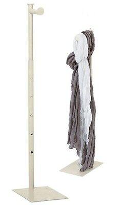 Countertop Display Stand Rack Clothing Handbag Ivory Adjustable 24 -36 Retail