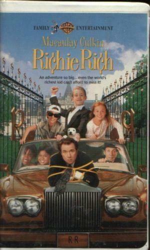 Sell Vhs Tapes >> Richie Rich VHS | eBay