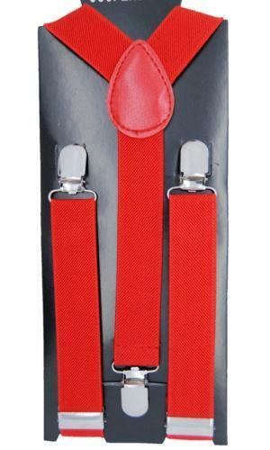 NEW Baby Toddler Kids Child Burgundy Suspenders and. Heavy duty 1
