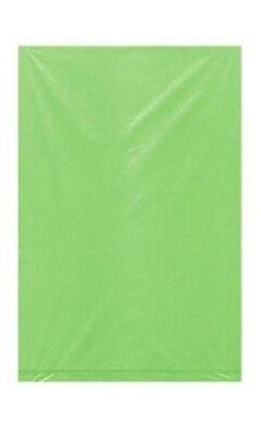 """Plastic Bags 1000 Lime Green Retail Shopping Merchandise Gift Bag 6 ¼"""" x 9 ¼"""" - Lime Green Gift Bags"""