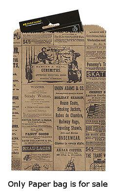 1000 Bags New Retail Small Newsprint Paper Merchandise Bag 6 X 9 Inch