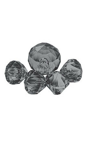 Accent Gems in Black for Silver Jewelry - Case of 50
