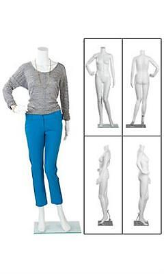 Female Posing Mannequin Base Retail Display Headless Size 6 Height 54