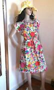 Vintage Swirl Dress